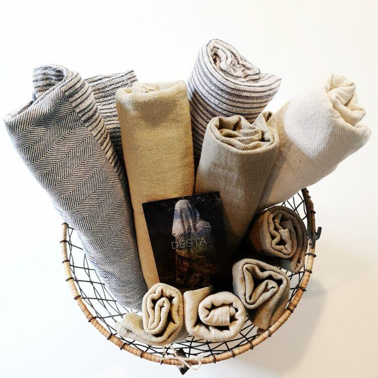 Tücher für Bad & Sauna